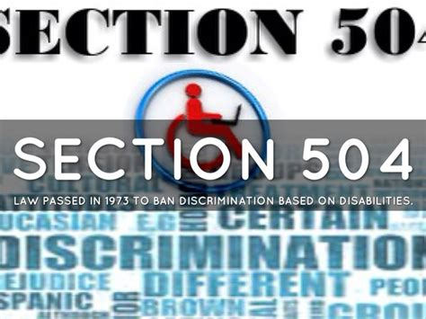 section 504 court cases history of public policy and inclusion timeline