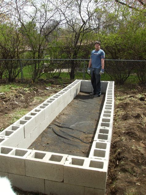 cinder block raised bed diy raised garden beds with cinder blocks home design