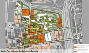 Columbus State Community College Map by Columbus State Master Plan Envisions Campus Makeover