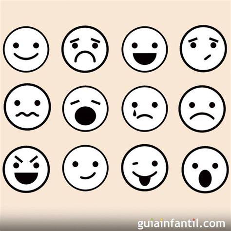imagenes de sentimientos vintage dibujos de caras de emociones para colorear con los ni 241 os