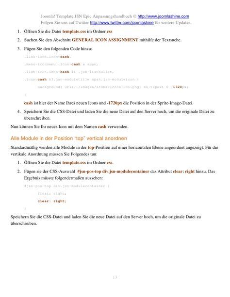 epic templates jsn epic anpassungshandbuch