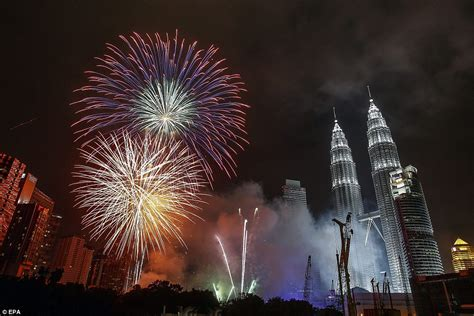when is the new year in malaysia new year s fireworks include special ww1 poppy