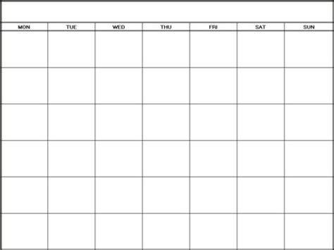 free blank monthly calendar template free printable blank calendar template pdf word calendar