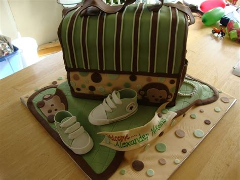 Mod Monkey Baby Shower by Baby Boy Mod Monkey Baby Shower Cakecentral