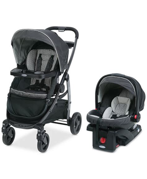 graco pram with car seat graco baby modes click connect stroller snugride 35