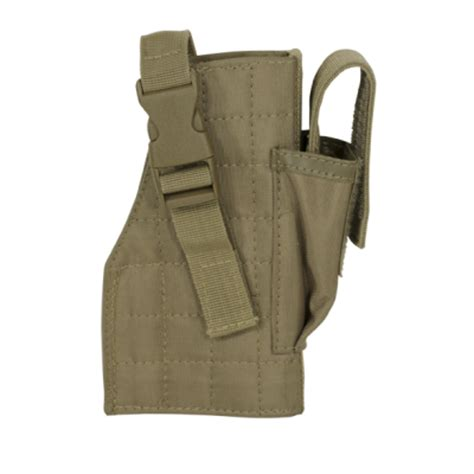 voodoo tactical holster voodoo tactical molle holster with attached mag pouch