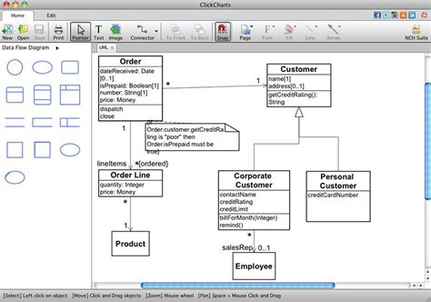 flowchart software mac free clickcharts free flowchart software mac by nch