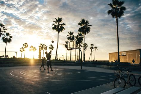 picture basketball beach bicycle fun tropical