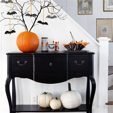 halloween home decor 31 ideas for stylish black white halloween decorations