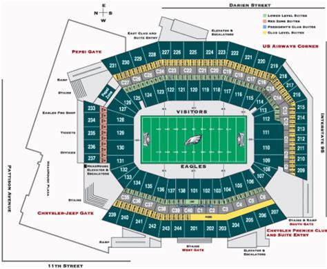 lincoln financial field standing room philadelphia eagles seating chart philadelphia eagles tickets 2016 preferred seats ayucar