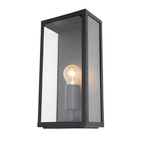 black exterior wall lights wall light outdoor black mersey lantern wall light