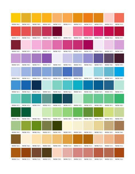tavola colori pantone pantone by marvasol issuu