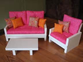 american doll furniture american sized 18 doll living room furniture set