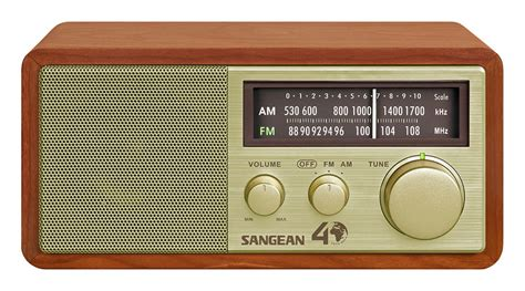 house music fm radio sangean wr 11se analog am fm tabletop radio