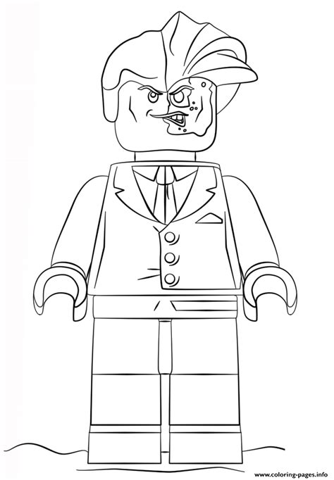Lego Batman Coloring Pages For by Lego Batman Two Coloring Pages Printable