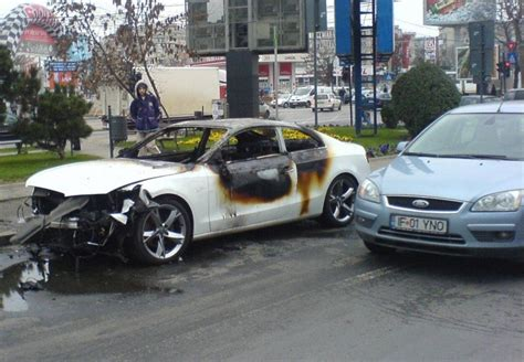 Audi Unfall by Audi A5 Crash