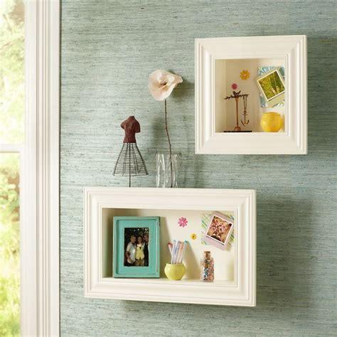 picture frame shelves so diy