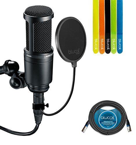 Audio Technica At2020 Cardioid Condenser Studio Microphone audio technica at2020 cardioid condenser studio microphone import it all