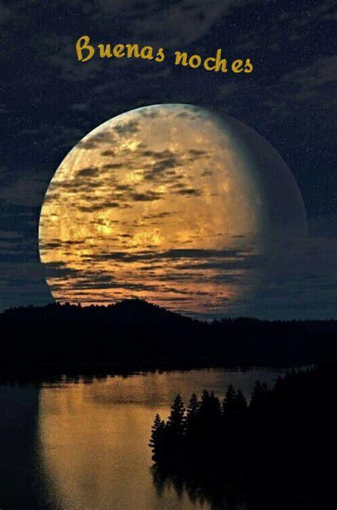 buenas noches luna 0060262141 buenas noches luna reflejo rio caras frases e iconos amor
