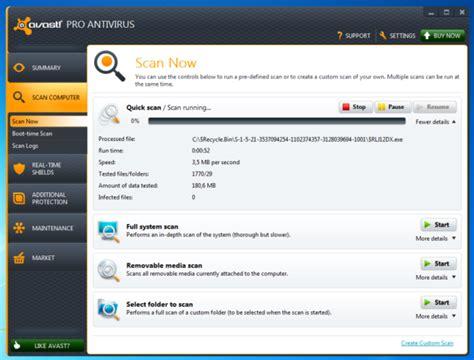 Antivirus Avast Pro avast pro antivirus 8 scanner