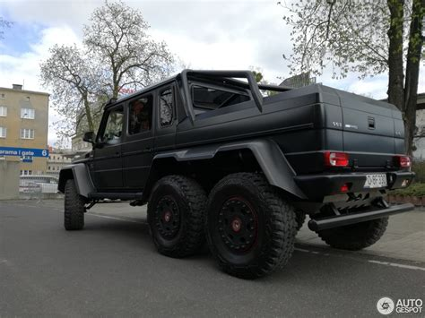 mercedes g class 6x6 mercedes g 63 amg 6x6 12 april 2017 autogespot