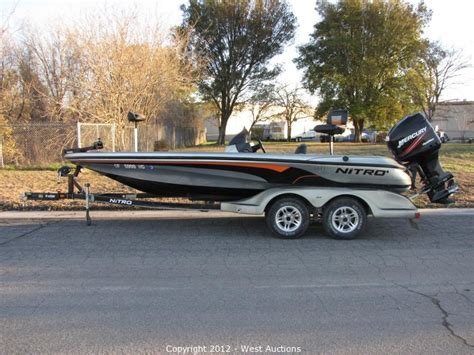 nitro boats problems west auctions auction 2005 tracker marine nitro 911cdc
