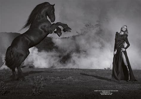 fighting  power magazine horse