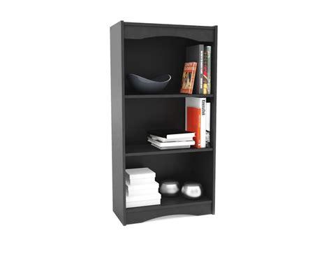 axess collection 4 shelf bookcase white 7250767c