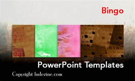 bingo powerpoint templates