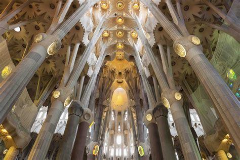 Interior Sagrada Familia by Sagrada Familia Interior Columns Www Pixshark