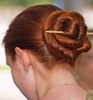 chinese bun hairstyles quot chinese quot bun tutorial titianknitter