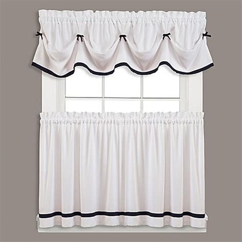 bed bath beyond curtains window treatments kate window curtain panel and valance bed bath beyond