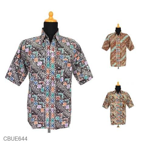 Dn Kemeja 73 baju batik kemeja arsha motif parang angsa kemeja lengan pendek murah batikunik
