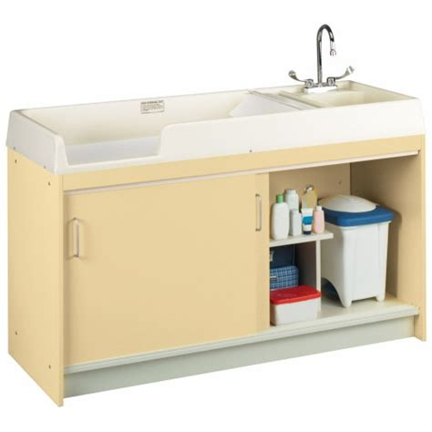 Changing Table With Sink Changing Table With Right Sink