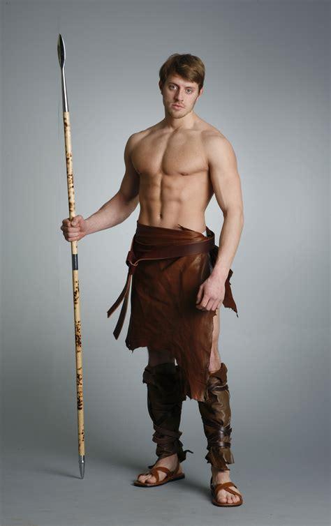 male artist models barbarian warrior j 15 by mjranum stock on deviantart