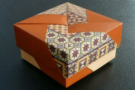 Japanese Origami Box - japanese culture arts origami