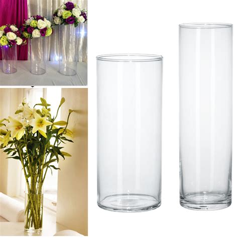 Acrylic Vases Centerpieces by Acrylic Cylinder Vase Clear Plastic Wedding Table