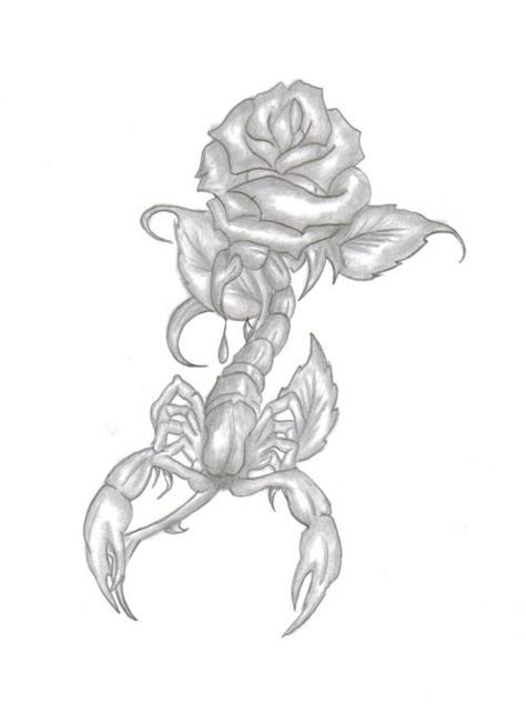 scorpion rose tattoo scorpion picture at checkoutmyink