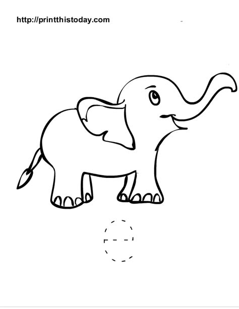 elephant template for preschool free printable alphabet worksheets letter a i