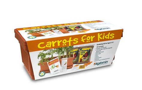 """Agromin Donates 300 """"Carrots For Kids"""" Gardening Kits to"""
