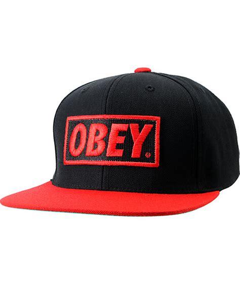 Topi Snapback Supra obey snapback hats gambar