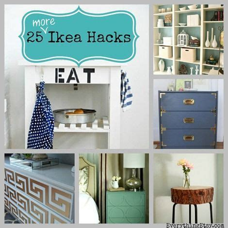 best decor hacks 25 more ikea hacks diy home decor