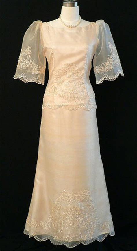 filipiniana gown  barongs