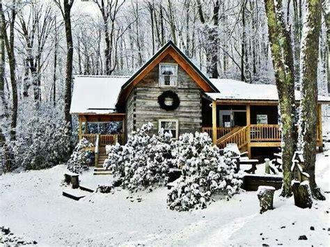 Winterizing A Cabin by Snowy Rustic Cabin Cabins