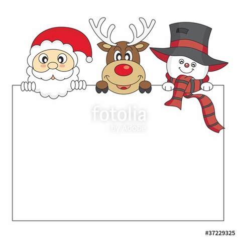 imagenes de santa claus y los renos quot tarjeta navidad reno santa claus y mu 241 eco de nieve