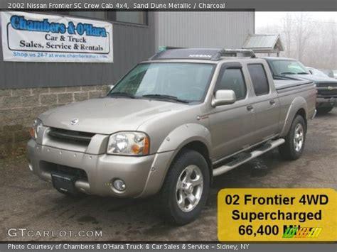 2002 nissan frontier interior sand dune metallic 2002 nissan frontier sc crew cab 4x4