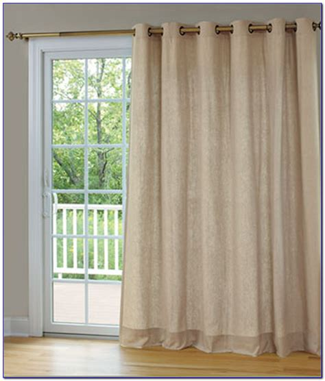 Sliding Glass Door Curtains Pinterest Patios Home Sliding Glass Door Curtain