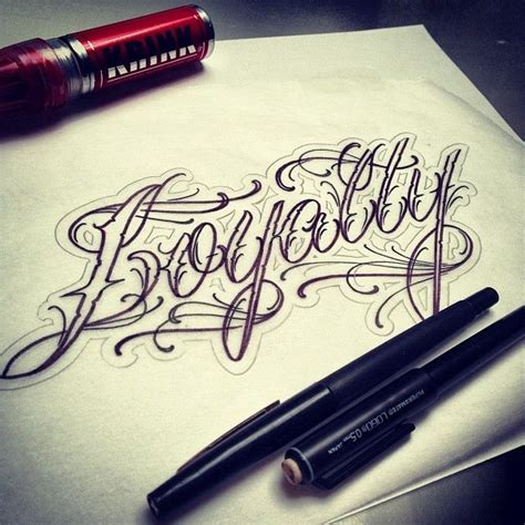 tattoo lettering loyalty today s script project quot loyalty quot getsome scriptwizard