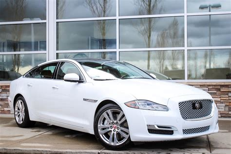 new 2017 jaguar xj xjl portfolio 4dr car in bellevue