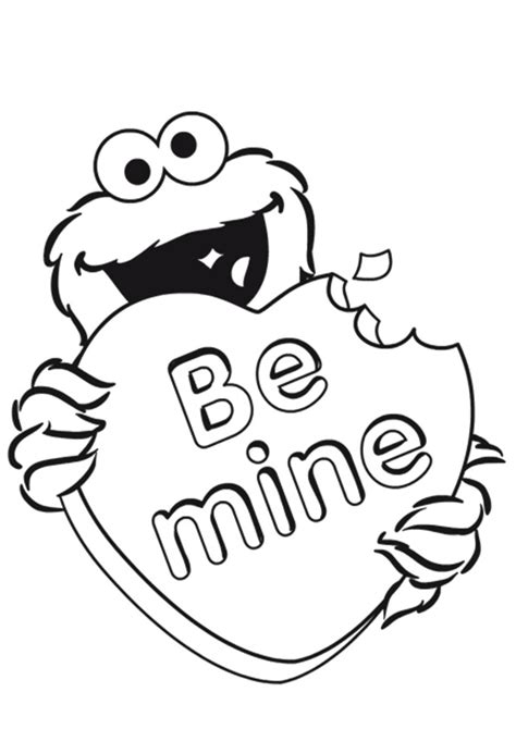 elmo valentine coloring page valentines day coloring pages for adults coloring pages